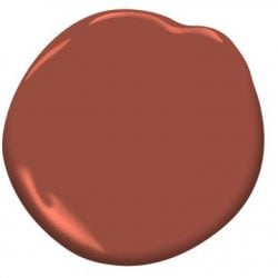 "Paint Color: ""Deep Poinsettia"" by Benjamin Moore"