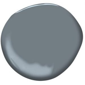 """Paint Color: """"Wolf Gray"""" by Benjamin Moore"""