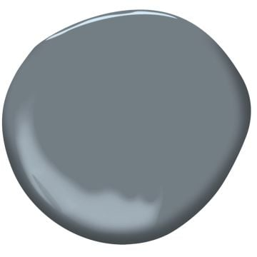 "Paint Color: ""Wolf Gray"" by Benjamin Moore"