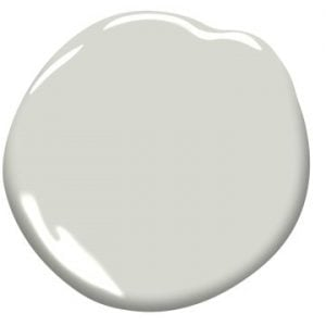 """Paint Color: """"Moonshine"""" by Benjamin Moore"""
