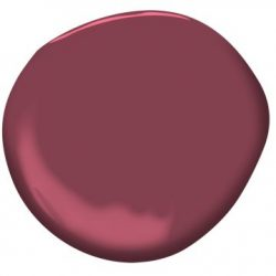 "Paint Color: ""Cranberry Cocktail"" by Benjamin Moore"