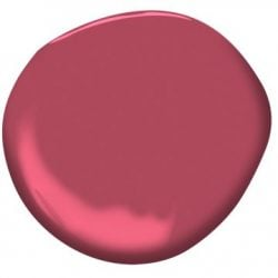 "Paint Color: ""Cherry Wine"" by Benjamin Moore"