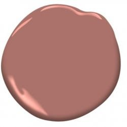"Paint Color: ""Texas Rose"" by Benjamin Moore"